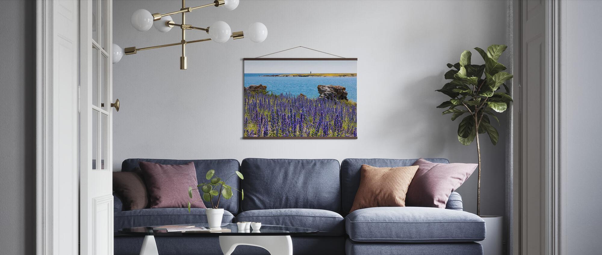 Gotlands Sommarlandskap - Poster - Vardagsrum