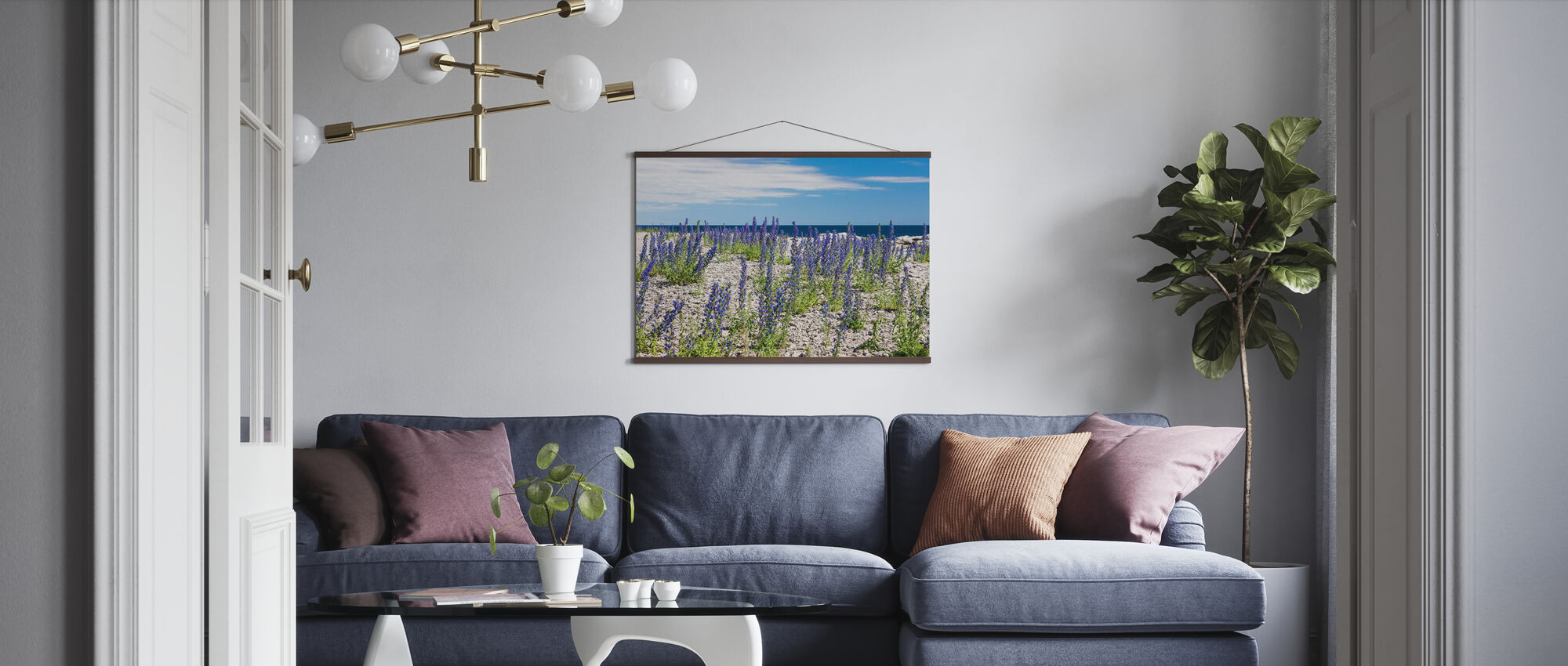 Blueweed - Poster - Living Room