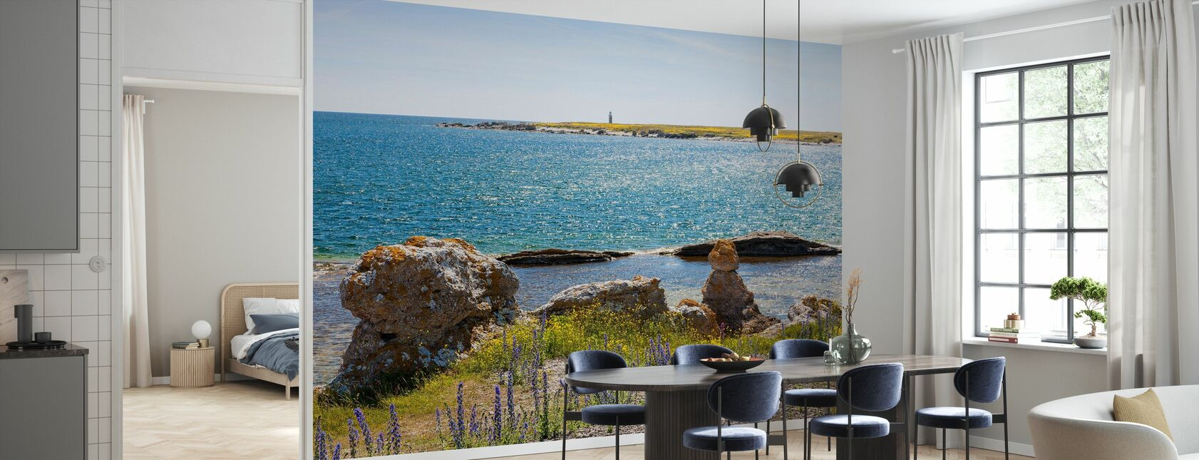 Gotlands Seaside - Tapet - Kök