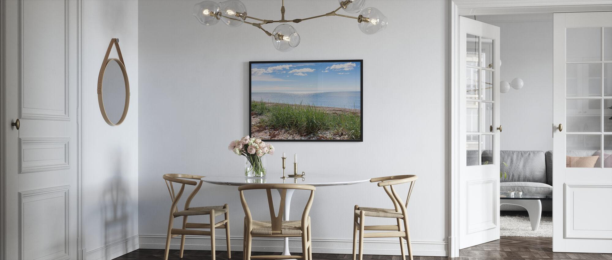 Gotland Beach - Framed print - Kitchen