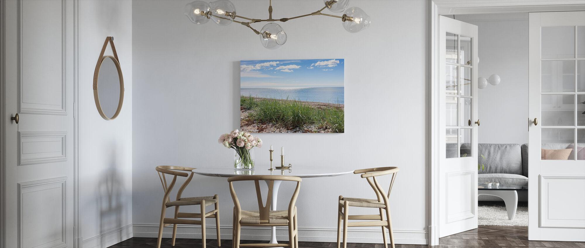 Gotland Beach - Canvas print - Kitchen
