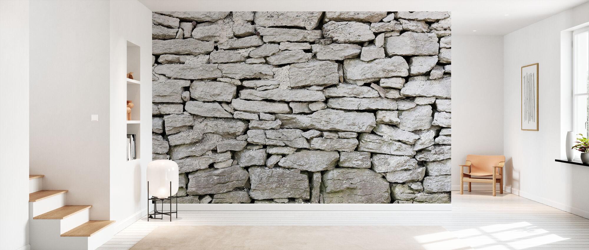 Gotland steinmur - Tapet - Gang