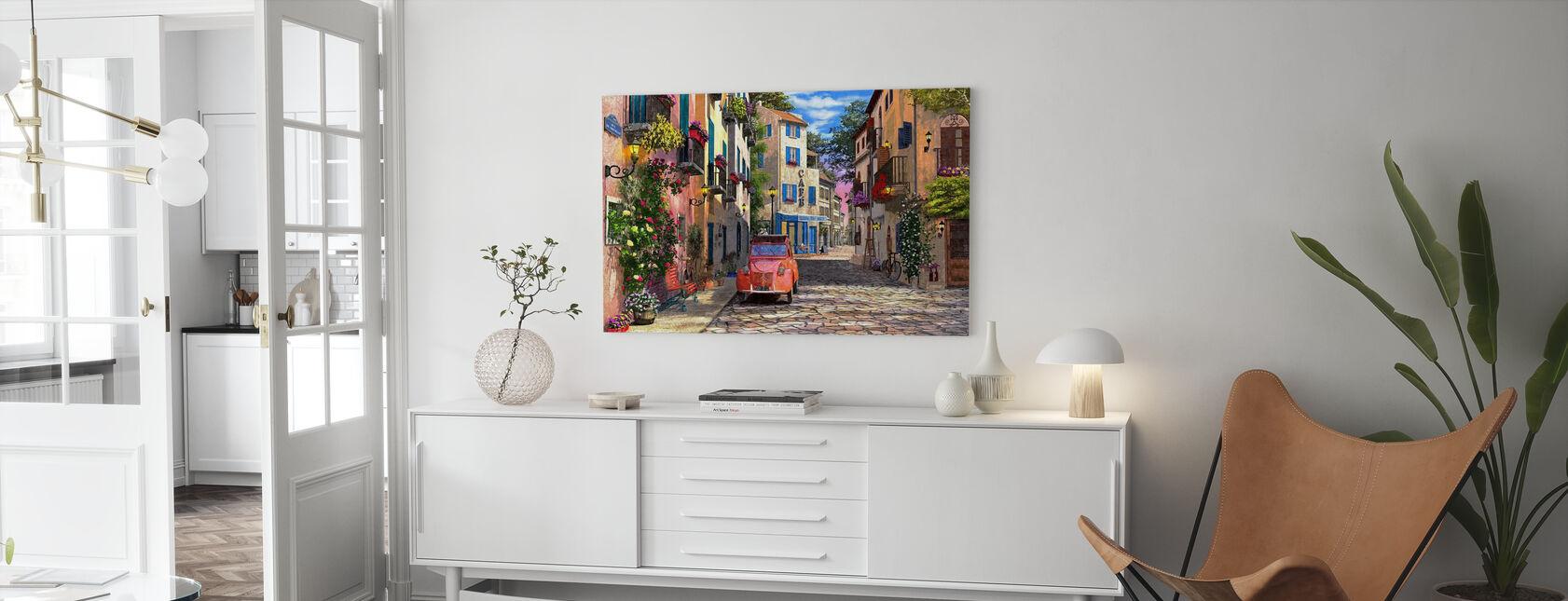 Rue Francais - Canvastavla - Vardagsrum