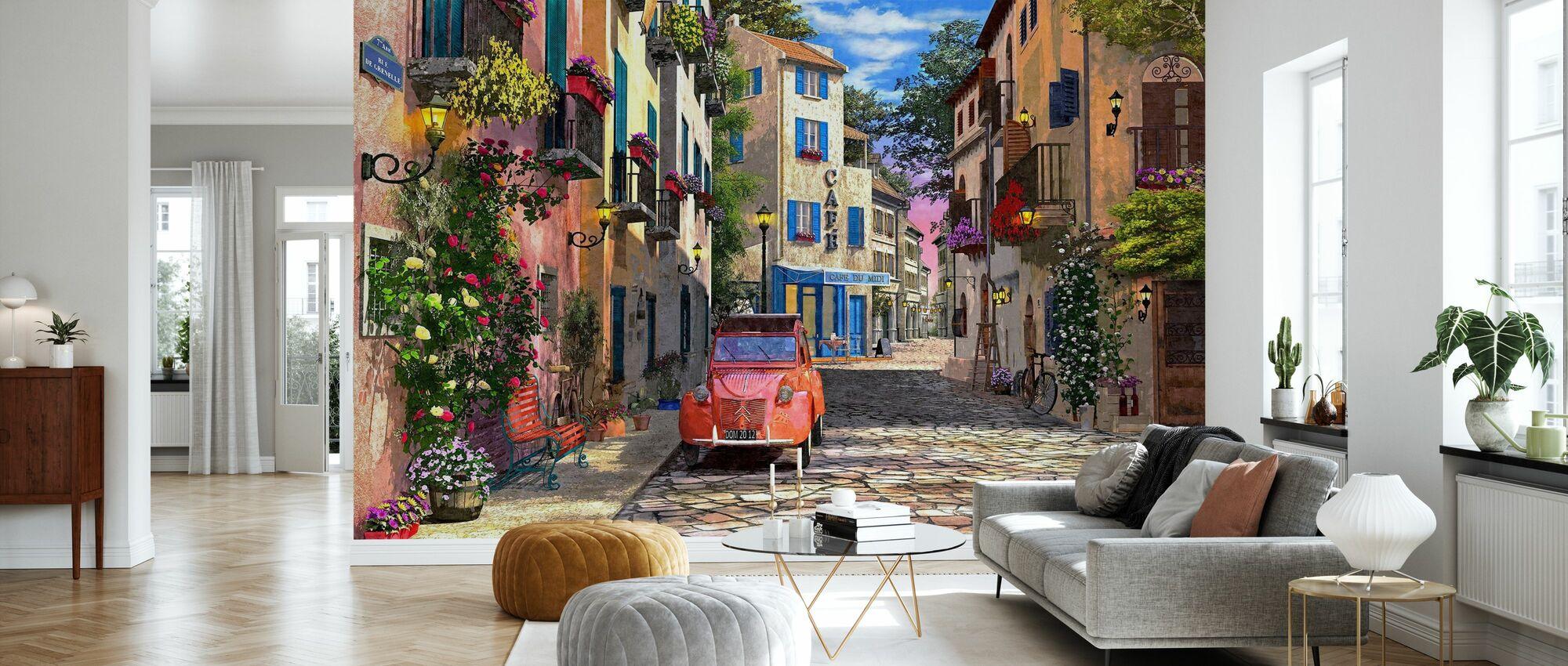Rue Francais - Tapet - Stue
