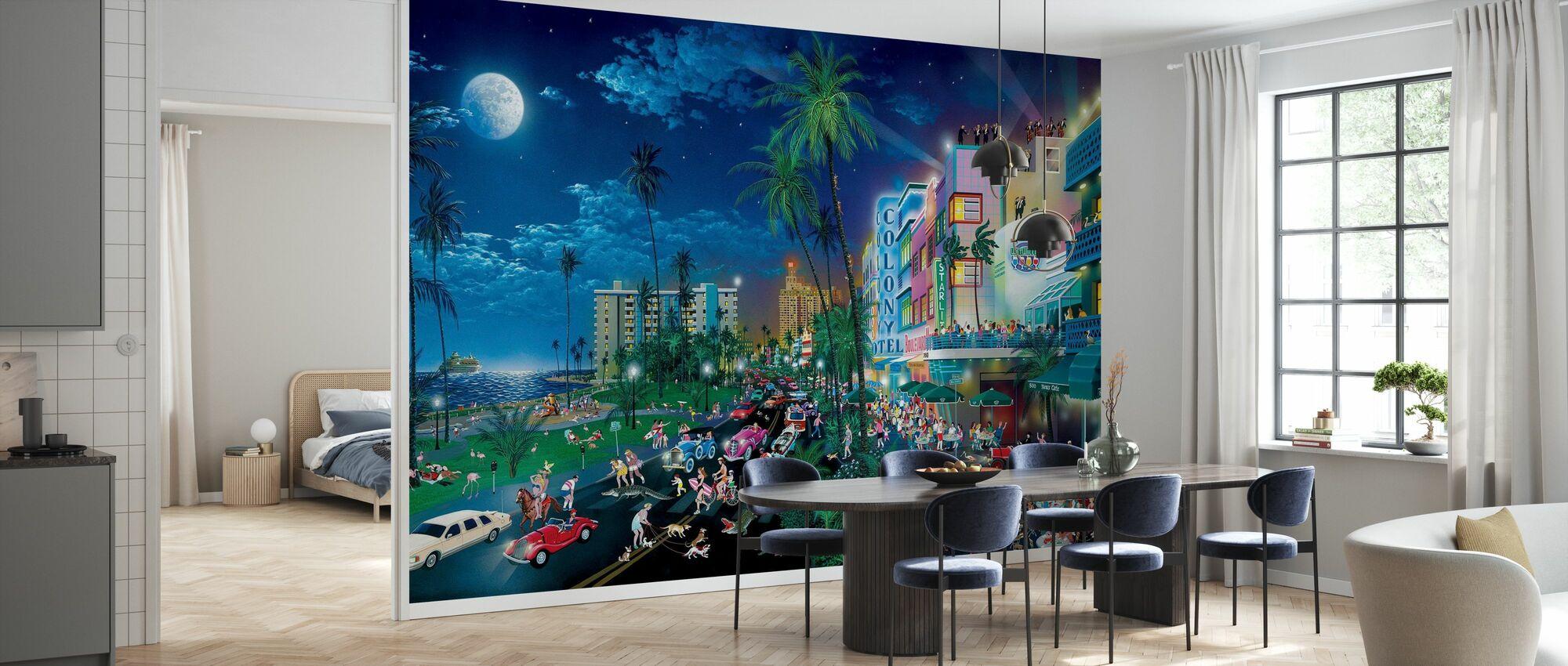 Miami Beach Hotel - Tapete - Küchen