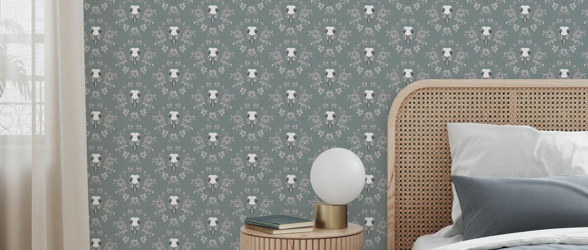 Spring - Green - Wallpaper - Bedroom