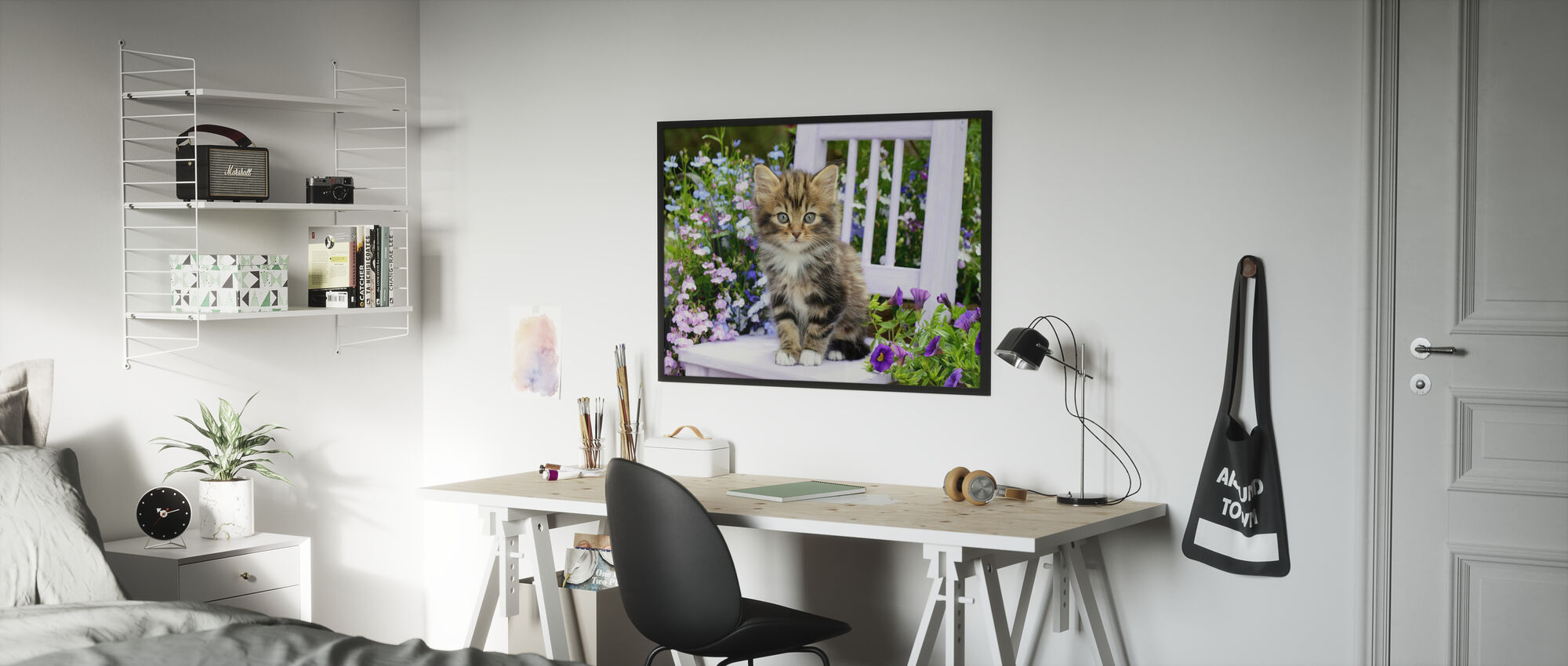 Outdoor Kitten - Poster - Kids Room