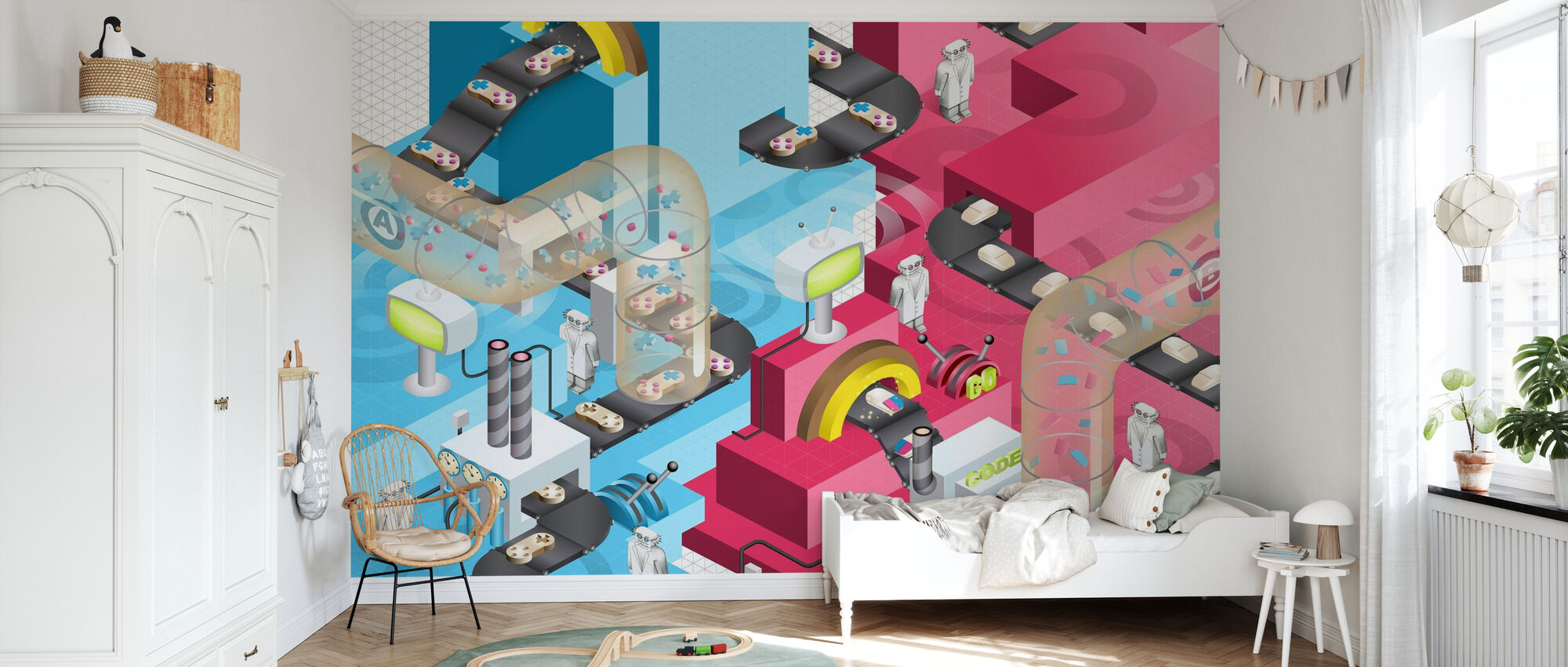 Competetive Gaming - Wallpaper - Kids Room