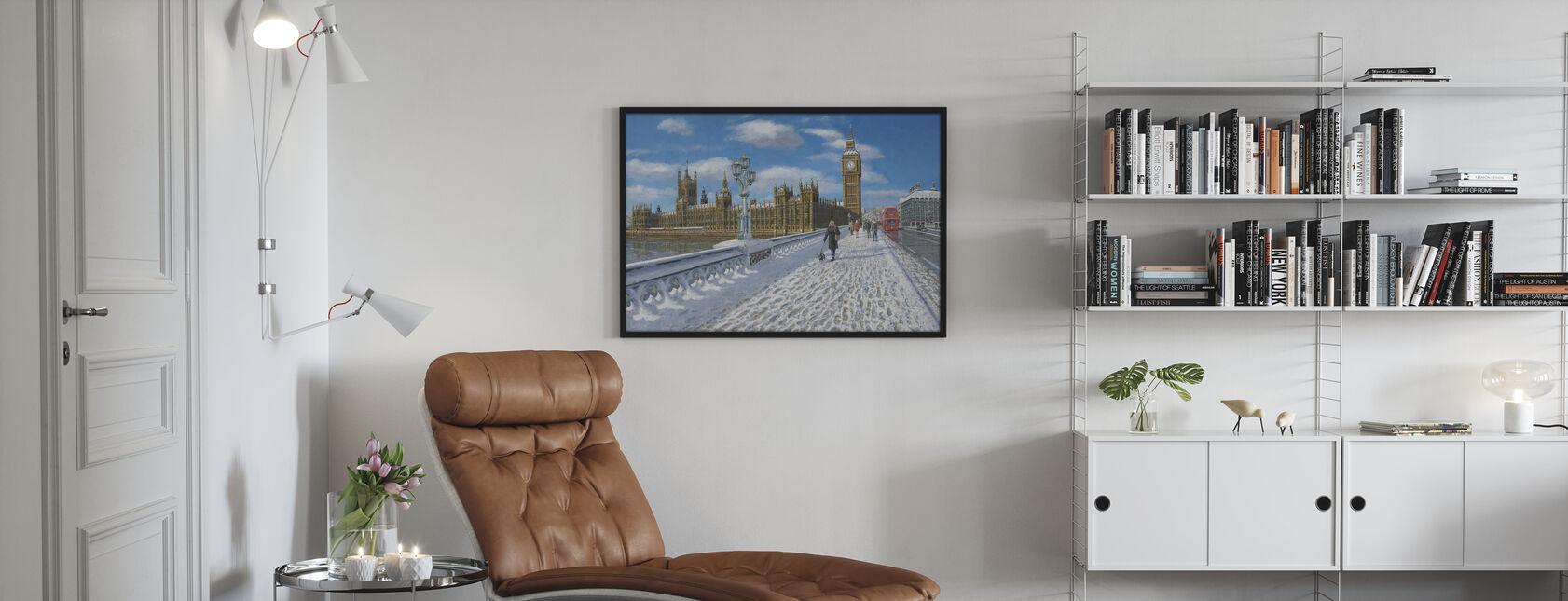 Winter sun Houses of Parliament - London - Poster - Wohnzimmer