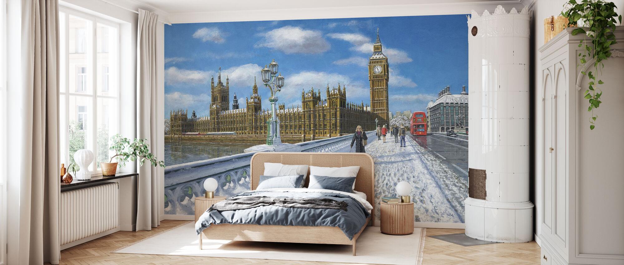 Vintersol Hus i Parlamentet - London - Tapet - Soverom