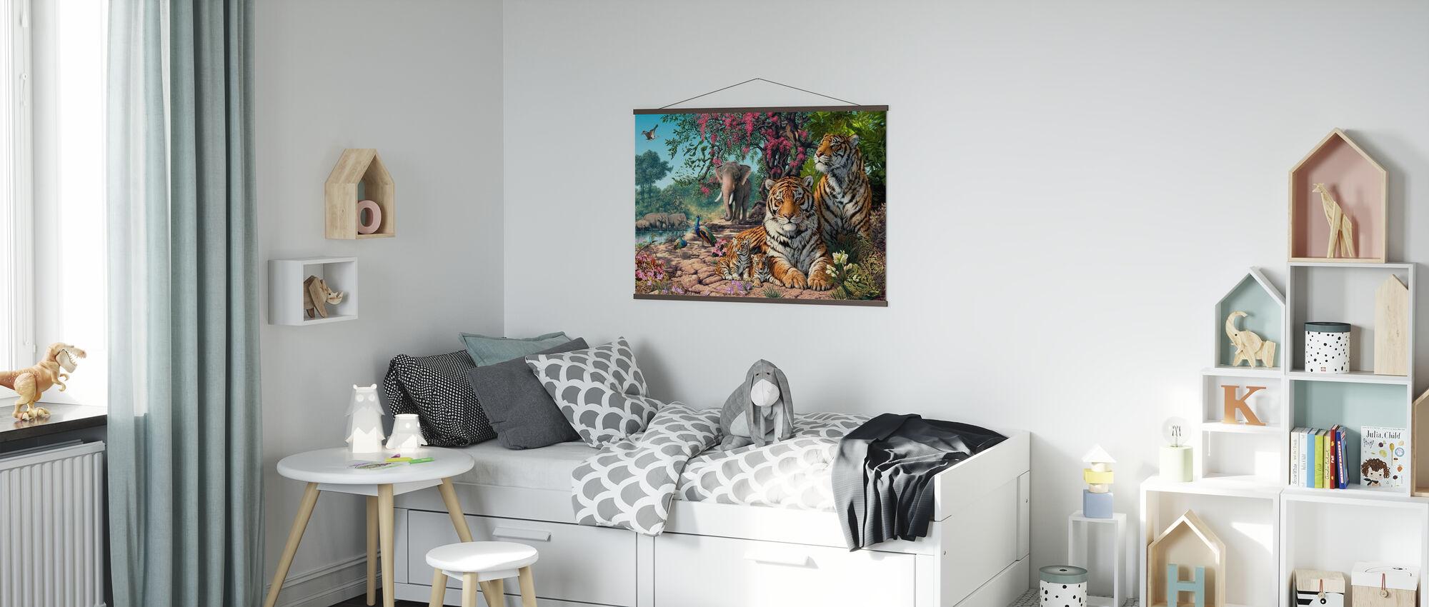 Santuario della tigre - Poster - Camera dei bambini
