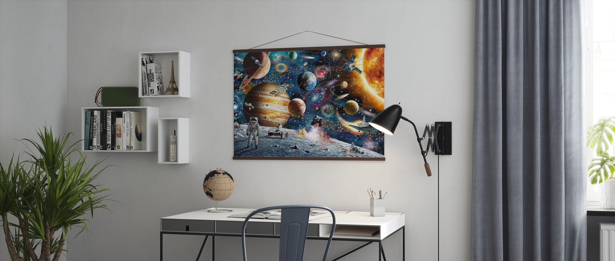 Space Odyssey - Poster - Office