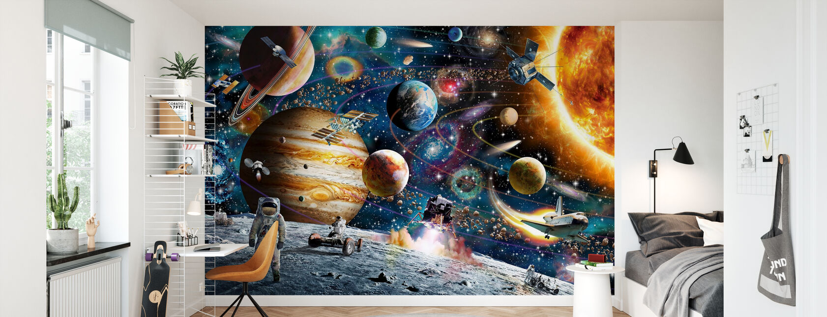 Space Odyssey - Wallpaper - Kids Room