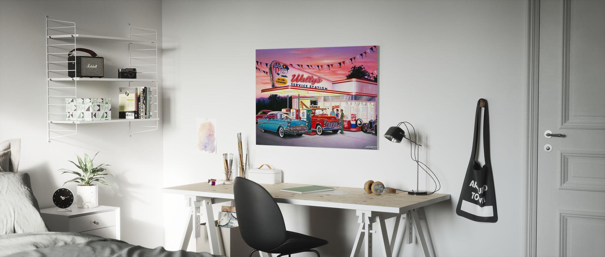 Wallys - Canvas print - Kinderkamer