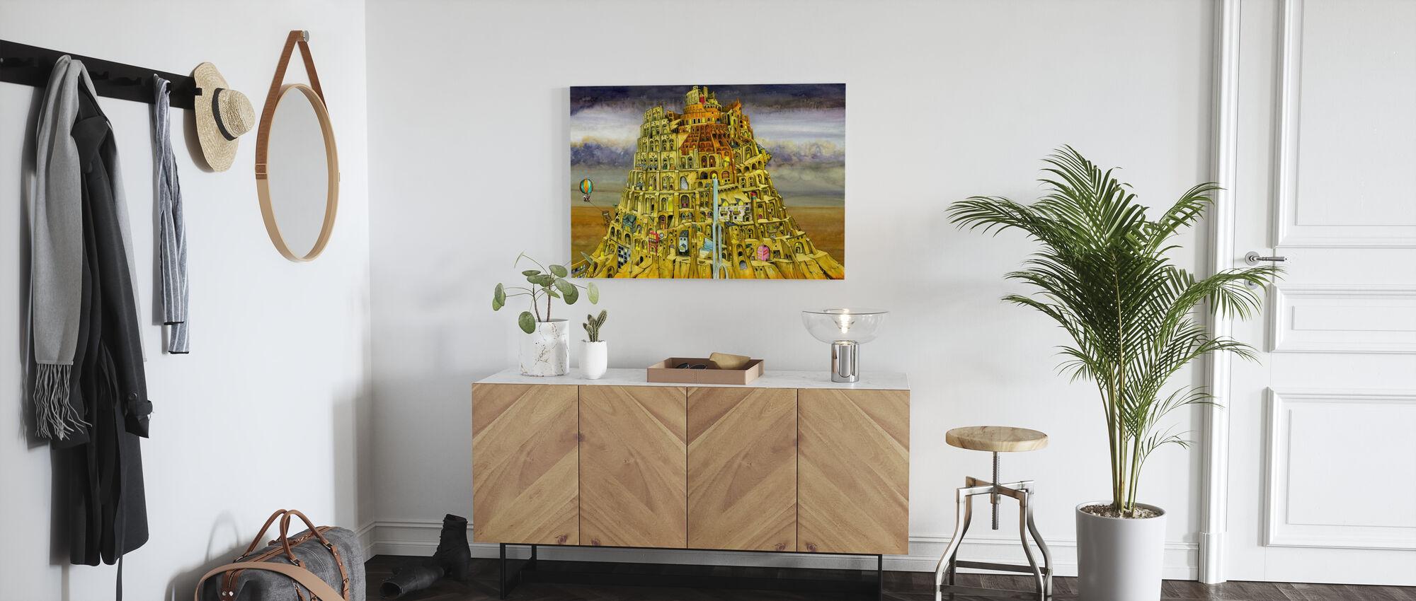 Babel. - Ja - Canvas print - Gang
