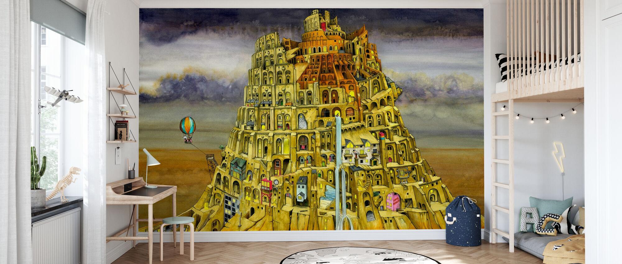 Babel - Tapete - Kinderzimmer