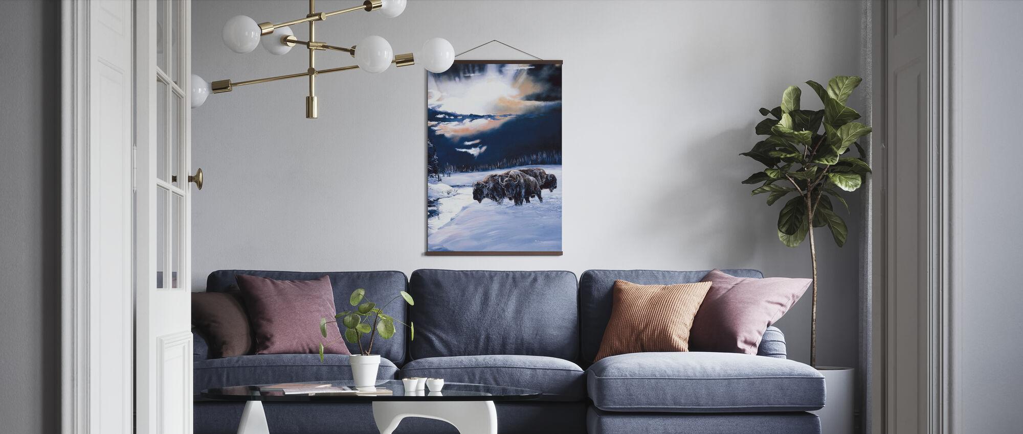 Winter Spir - Poster - Living Room
