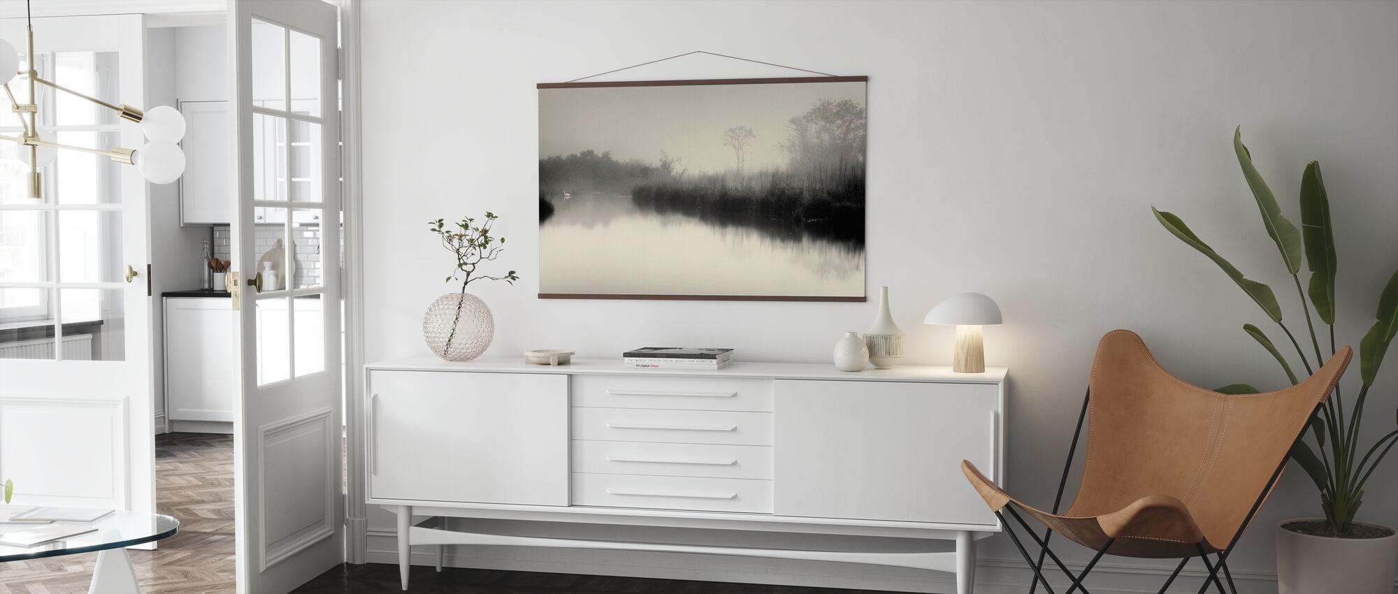 See und Bäume - Poster - Wohnzimmer