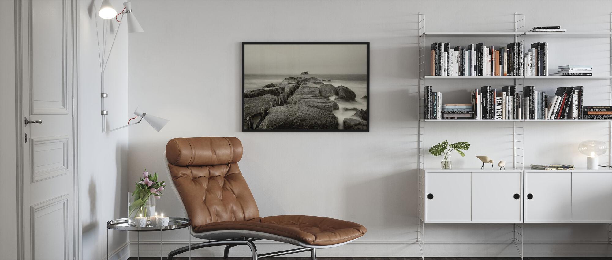 Rocks - Framed print - Living Room