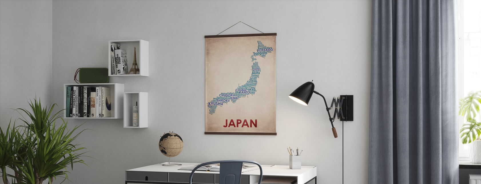 Japan Map - Poster - Office
