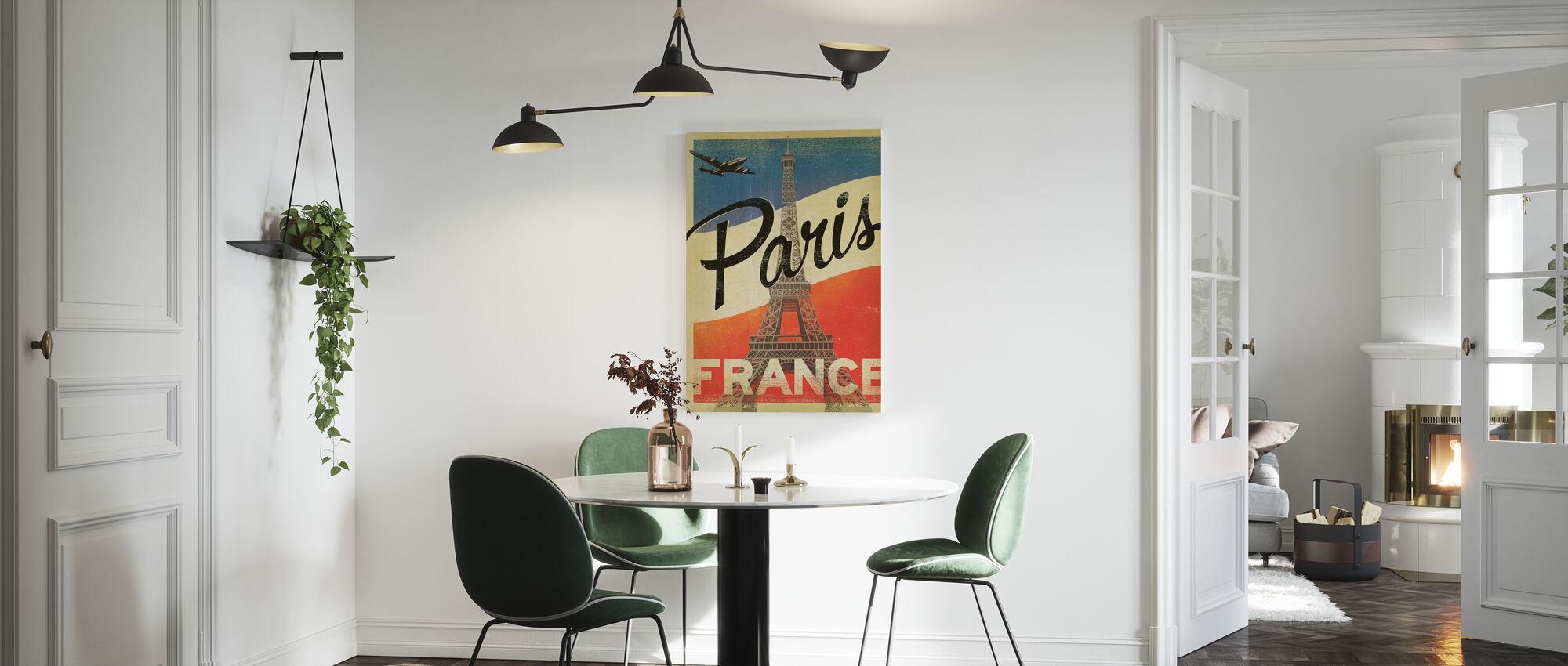 Paris - Canvas print - Kitchen