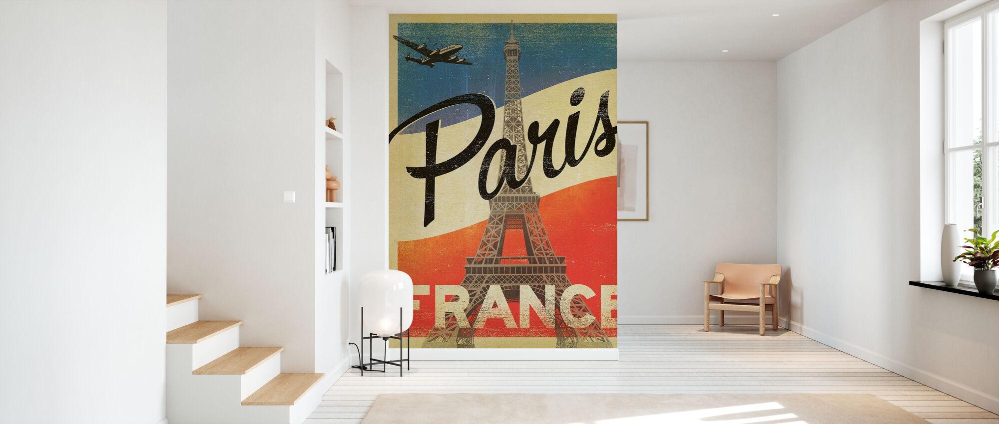 Paris - Wallpaper - Hallway