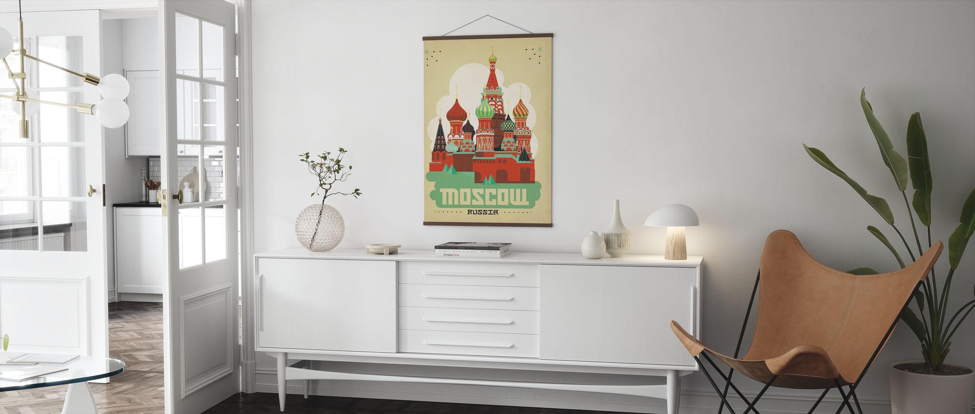 Moskou - Poster - Woonkamer