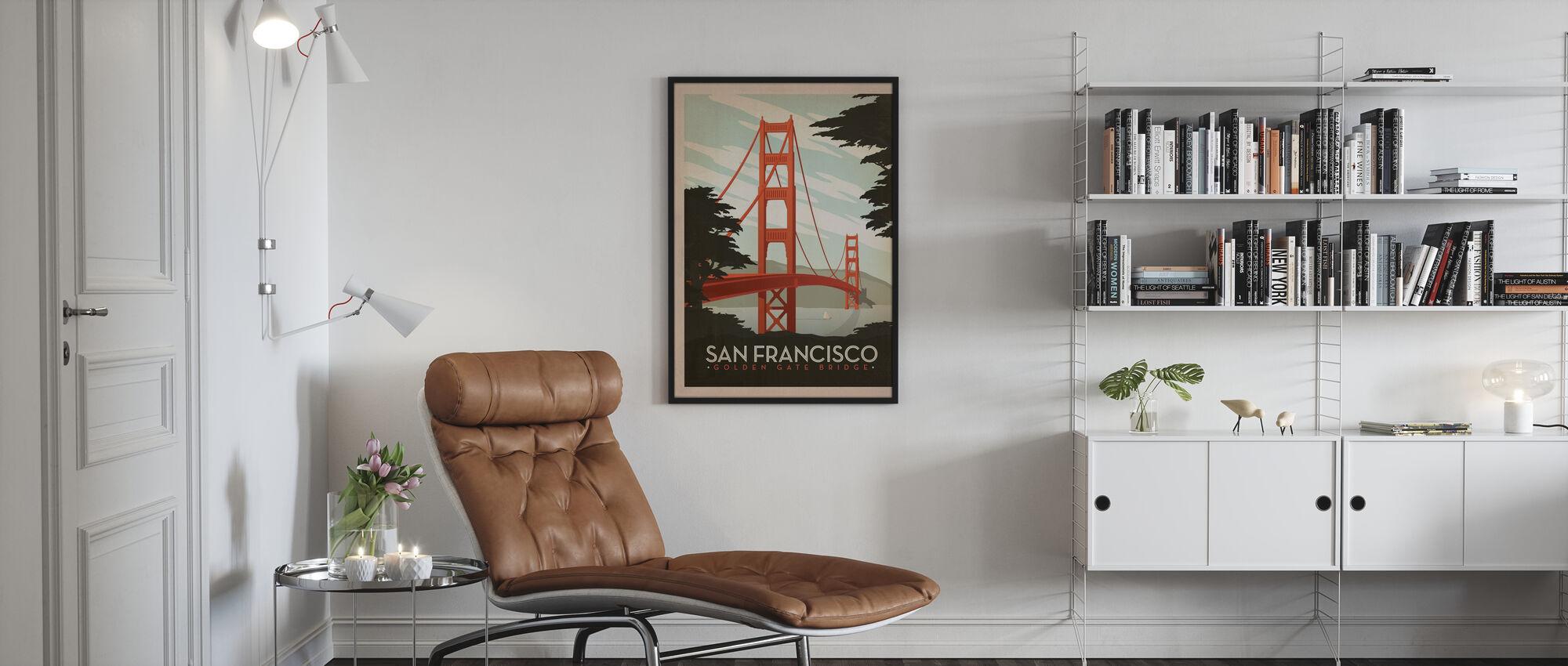 San Francisco - Poster - Living Room