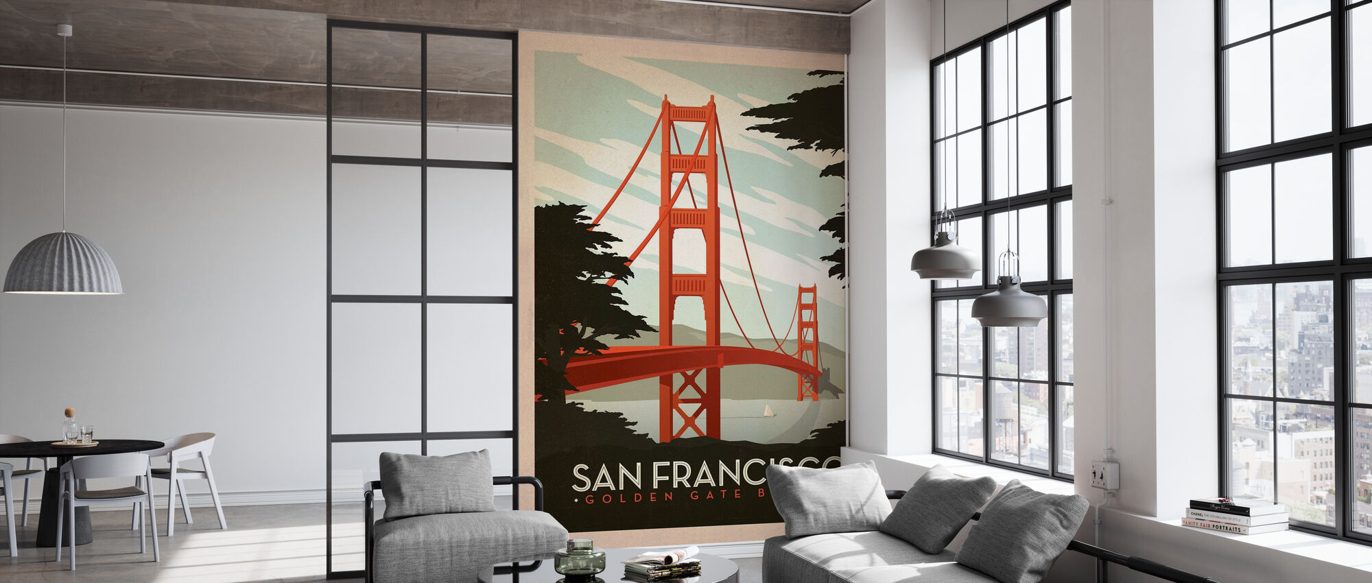 San Francisco - Wallpaper - Office
