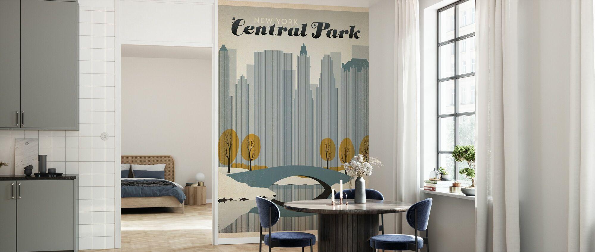New York City - Behang - Keuken