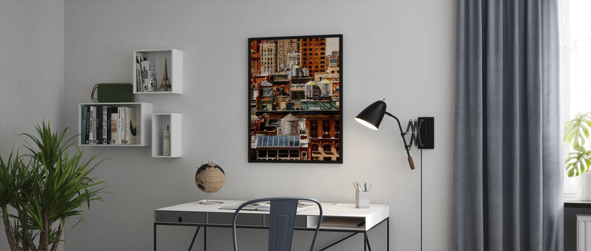 New York Rooftops - Poster - Office