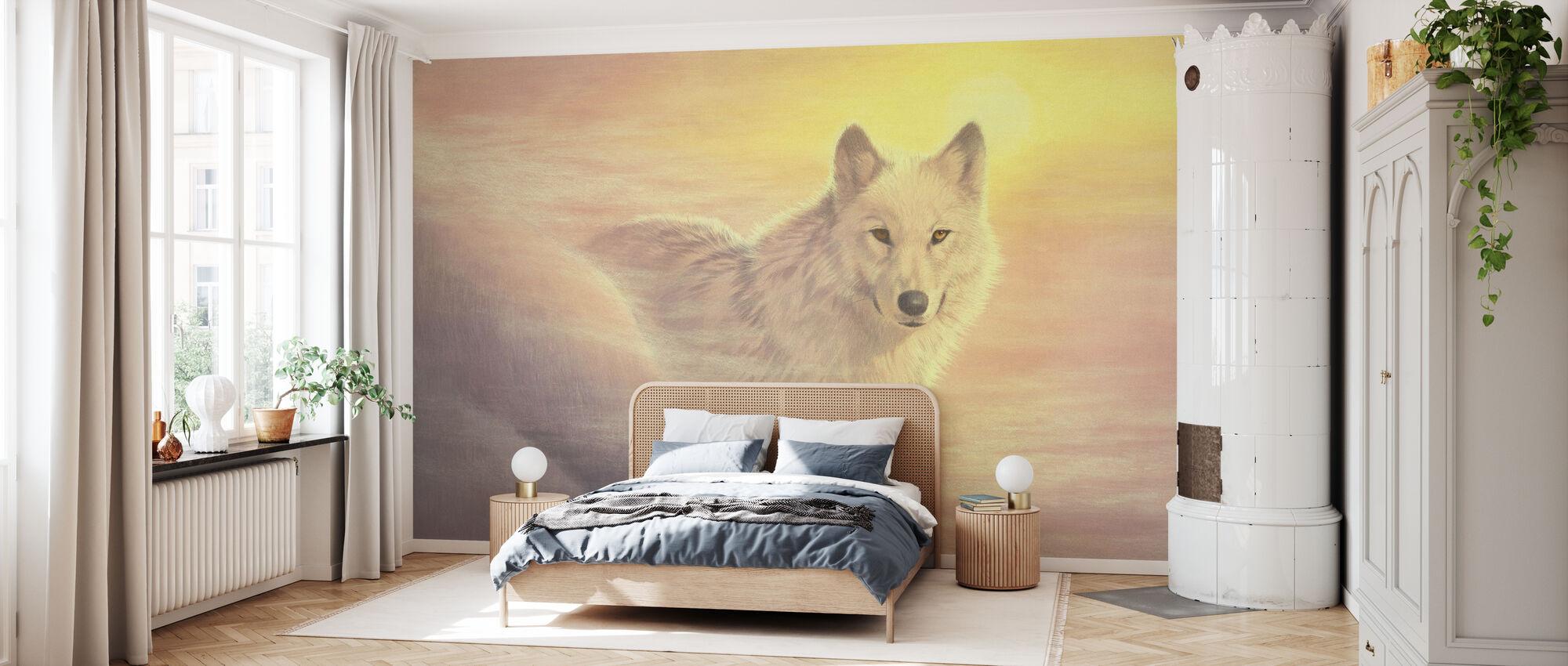 Mystisk ulv - Tapet - Soverom
