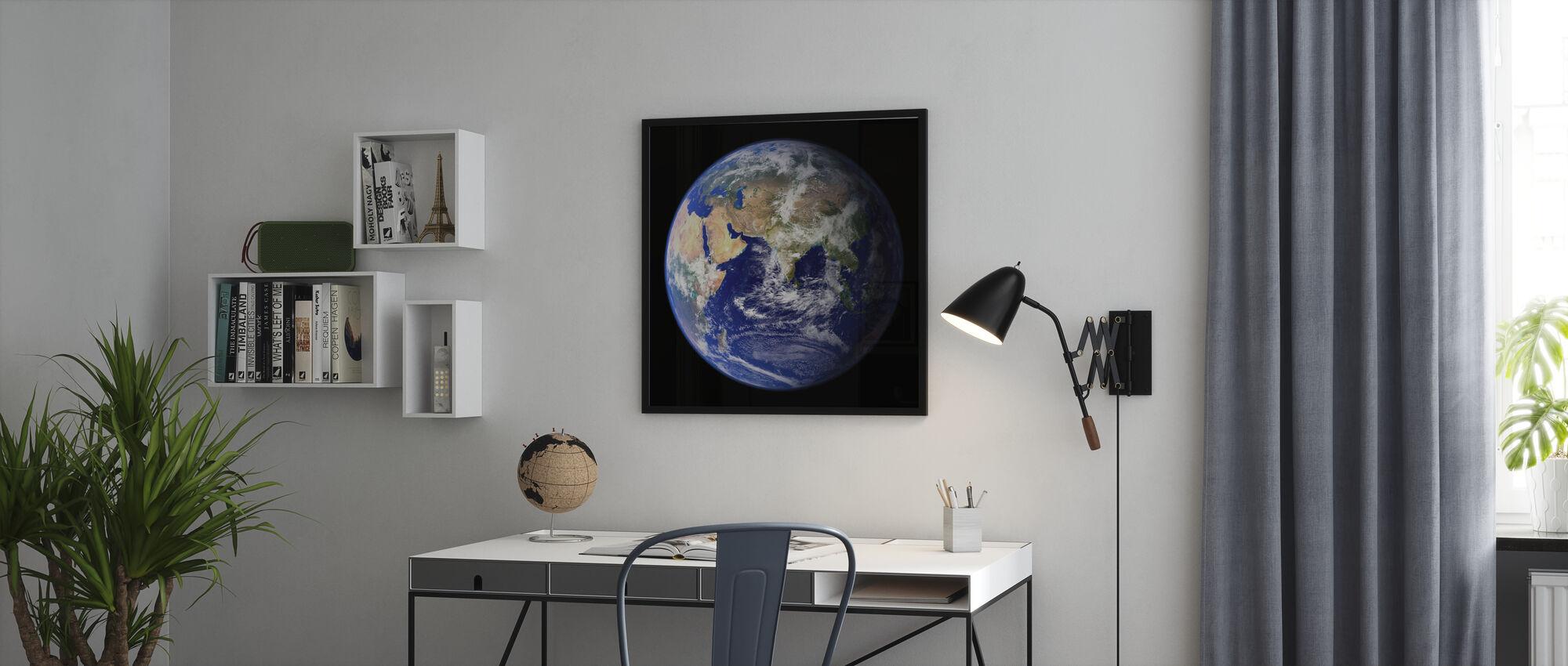 Earth - Framed print - Office
