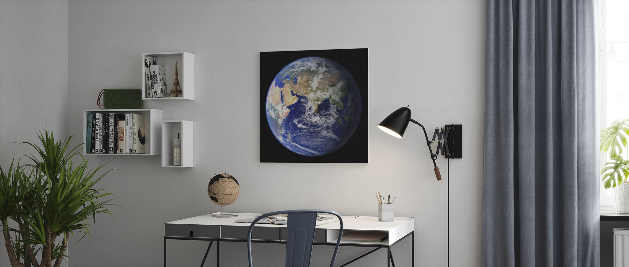 Earth - Canvas print - Office