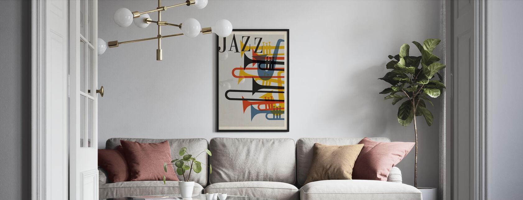 Jazzen - Plakat - Stue