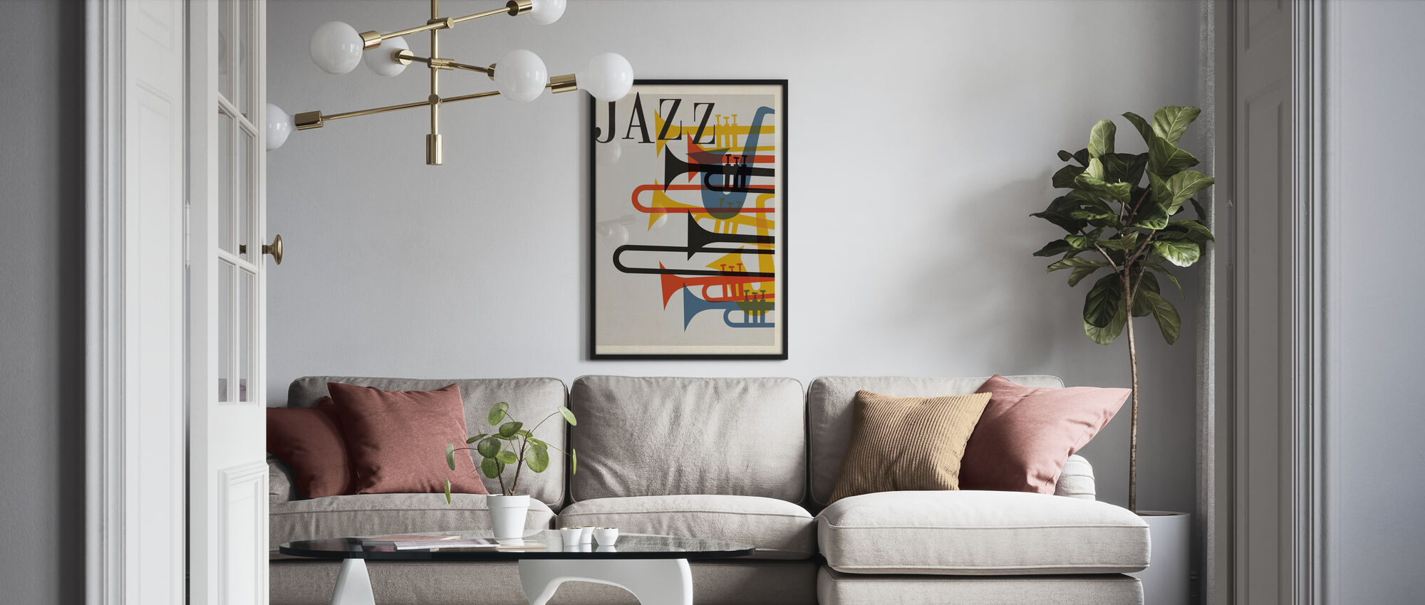 Jazz - Poster - Living Room