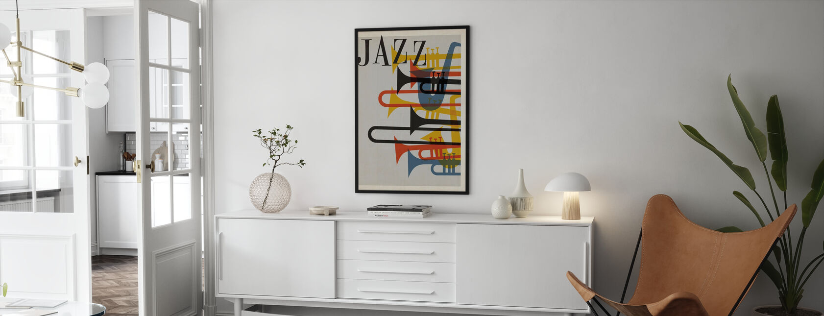 Jazz - Framed print - Living Room