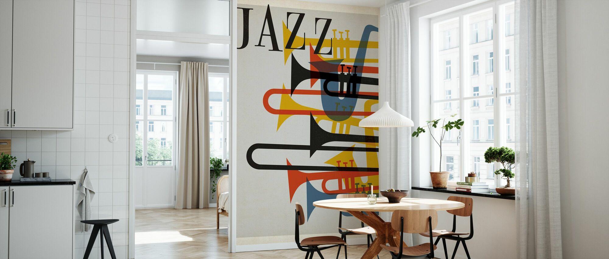 Jazzen - Tapet - Køkken