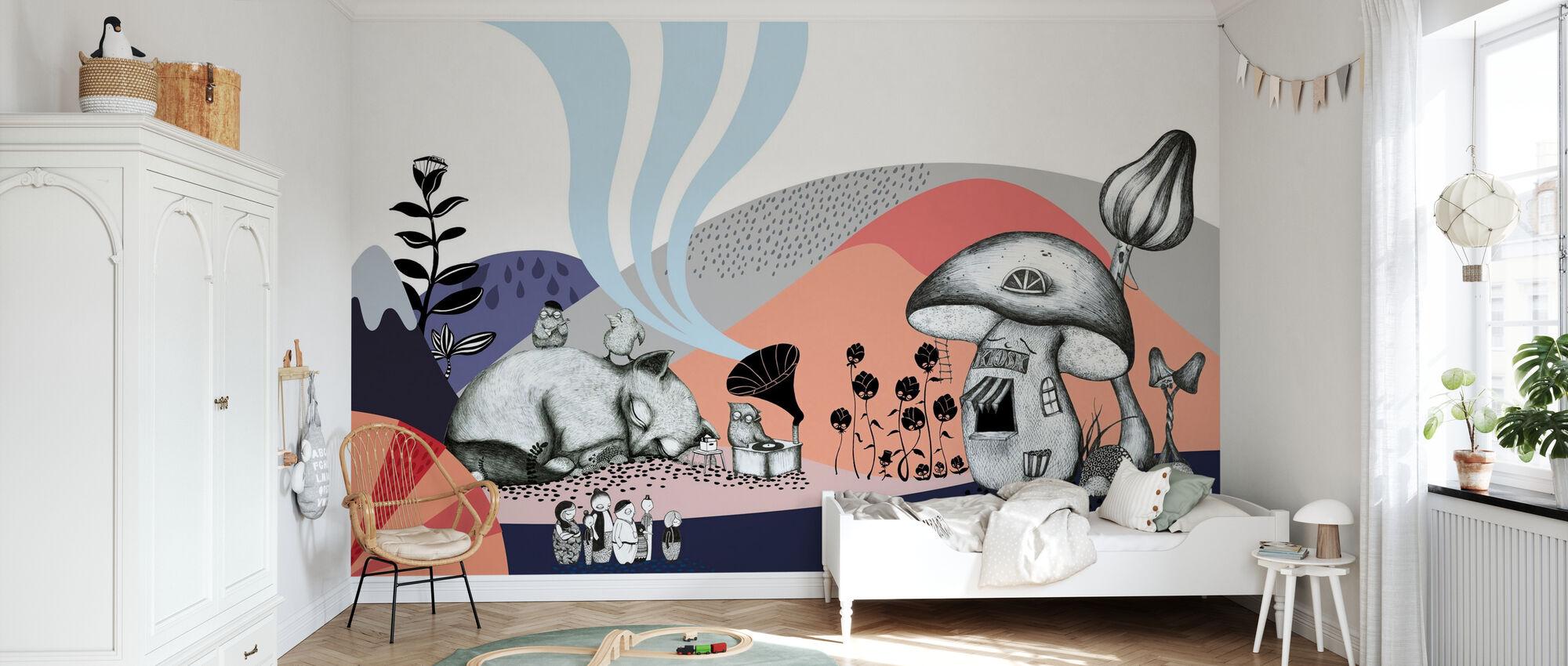 Hornstull Mushroom - Wallpaper - Kids Room