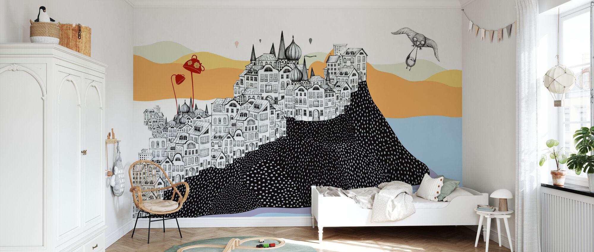 Hornstull Houses - Wallpaper - Kids Room