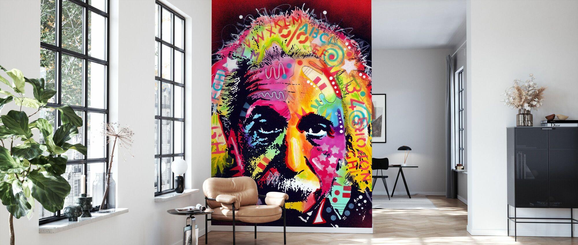 Einstein 2 - Wallpaper - Living Room