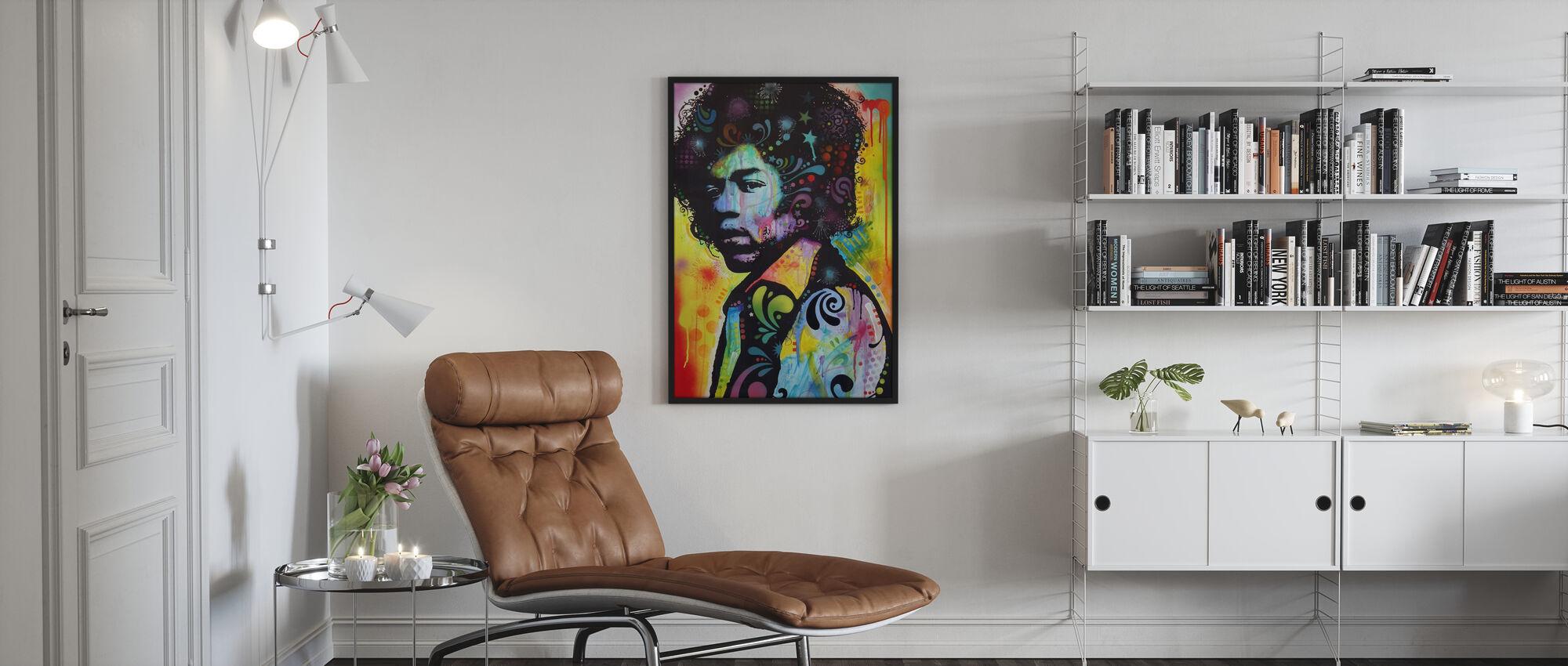 Hendrix - Poster - Living Room