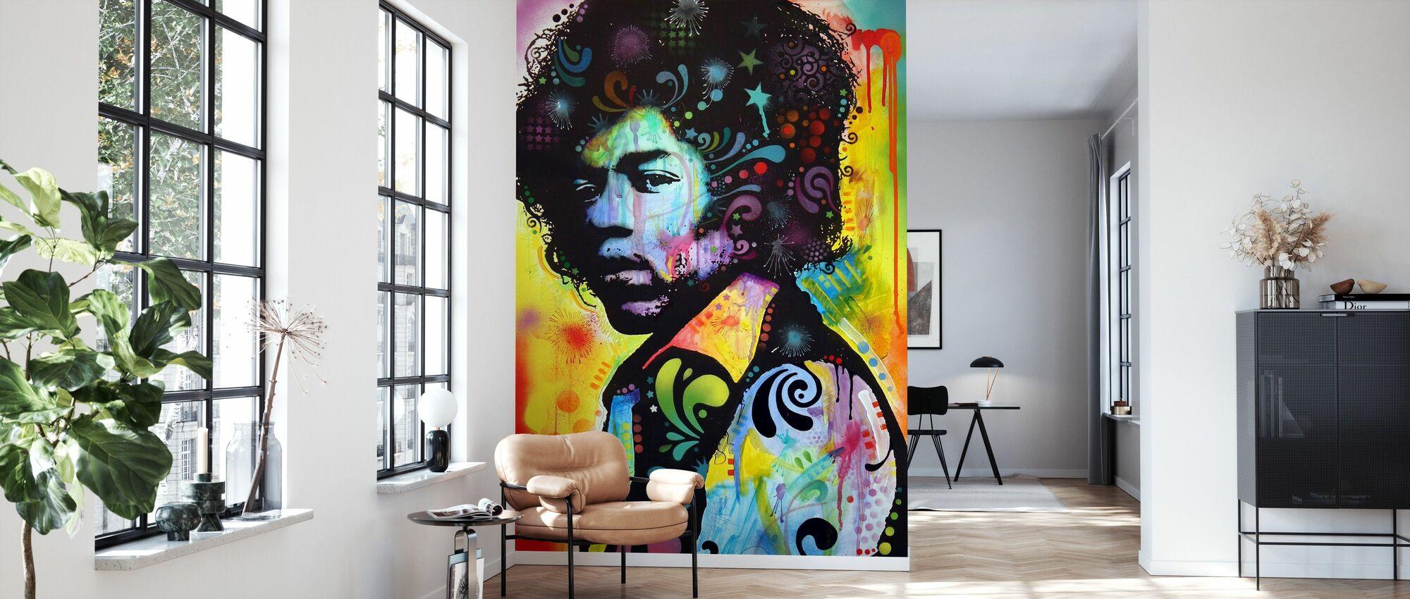 Hendrix - Wallpaper - Living Room