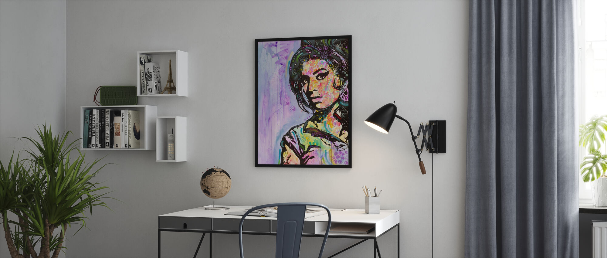 Amy - Framed print - Office