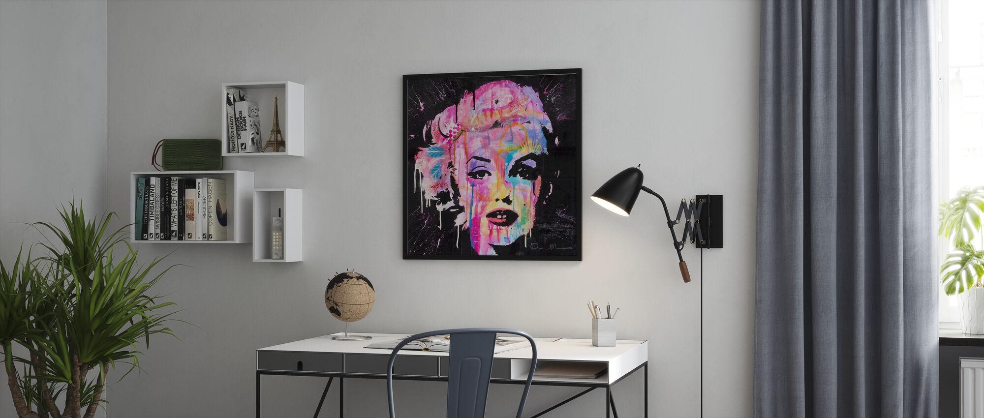 Marilyn - Kehystetty kuva - Toimisto