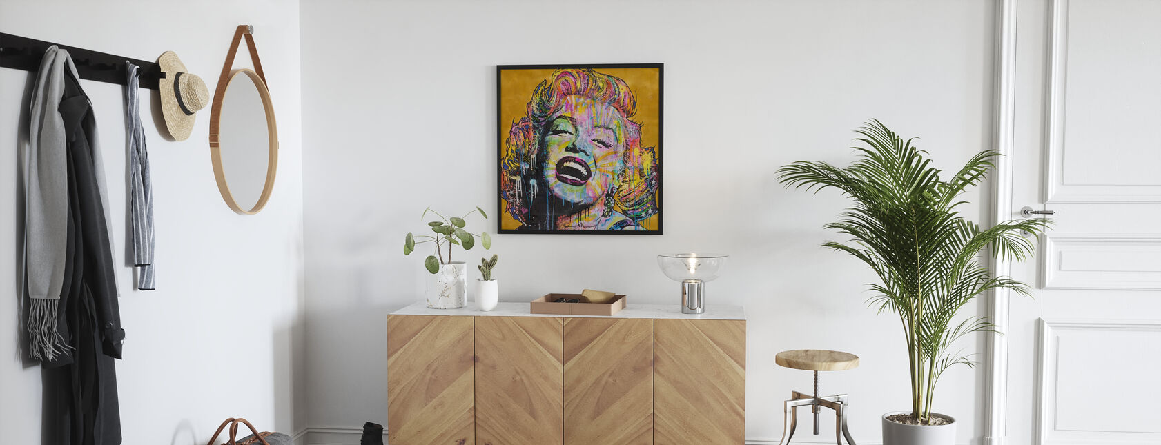 Marilyn Multicolor - Innrammet bilde - Gang