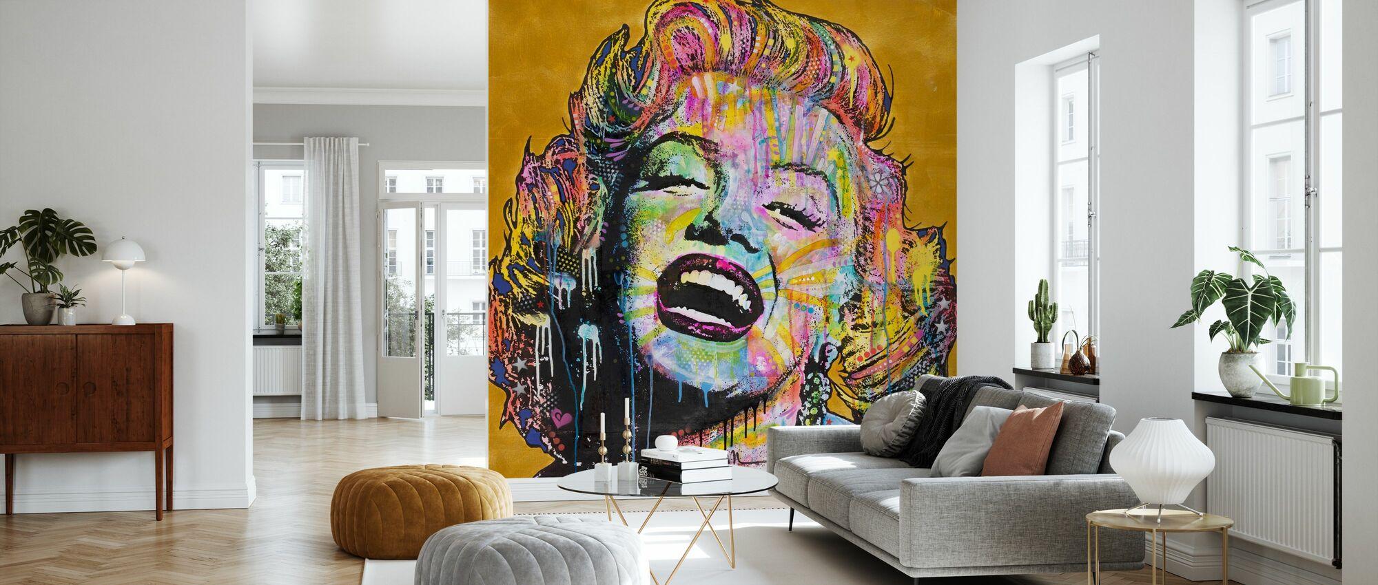 Marilyn Multicolor - Wallpaper - Living Room