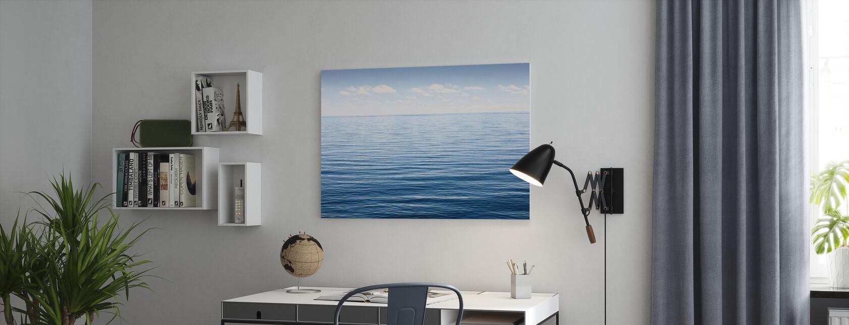 Endloses Meer - Leinwandbild - Büro