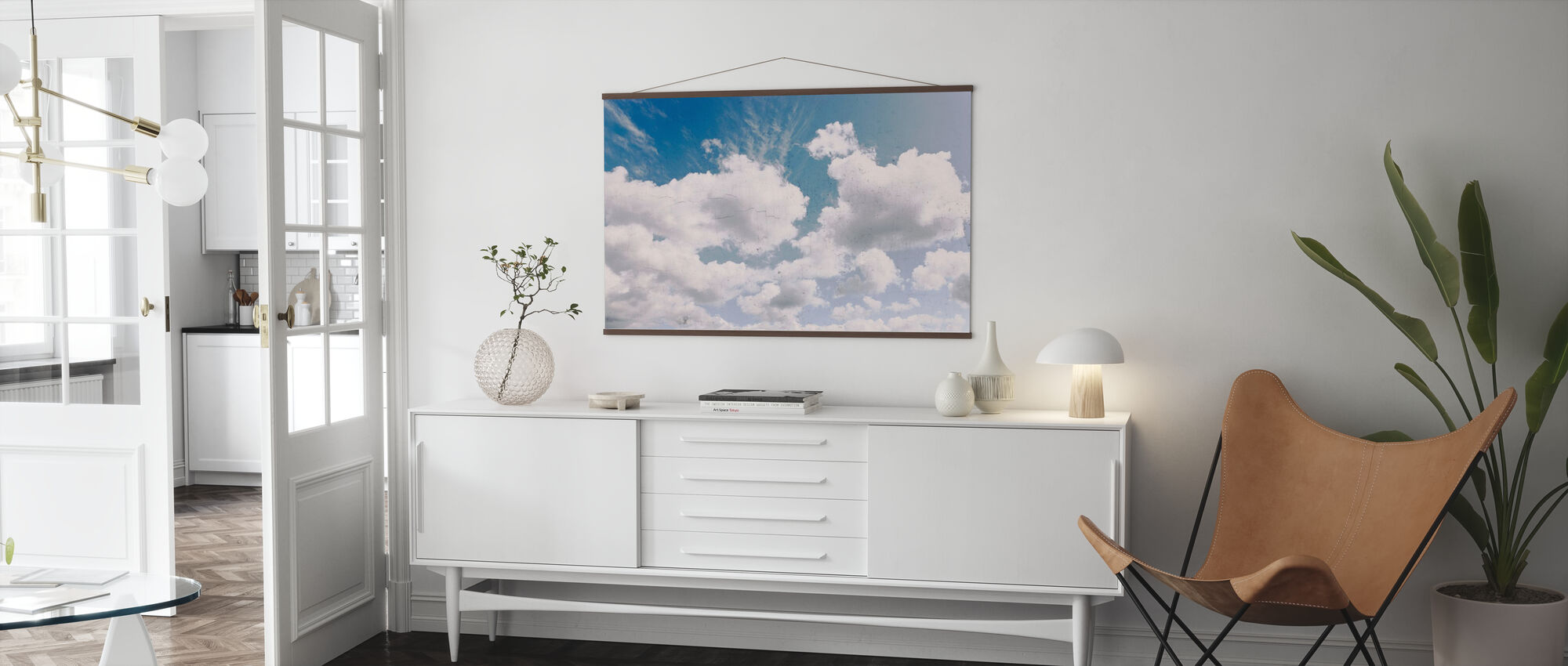 Dreamy Clouds - Poster - Living Room