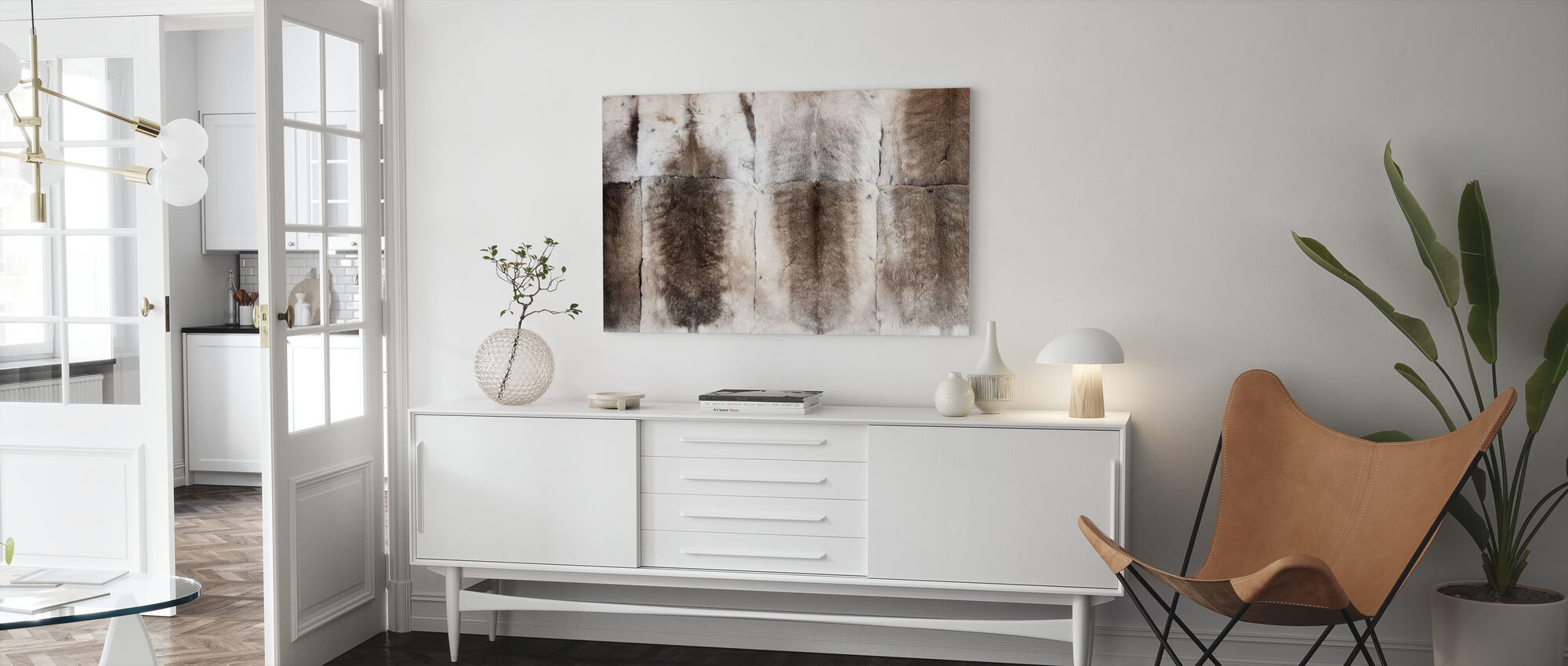 Reindeer Fell - Canvas print - Living Room